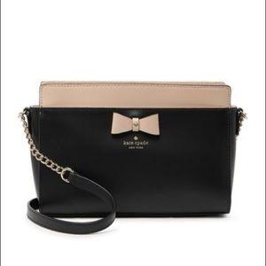 HP🎉 NWT Kate Spade Black Bow Crossbody Purse Bag